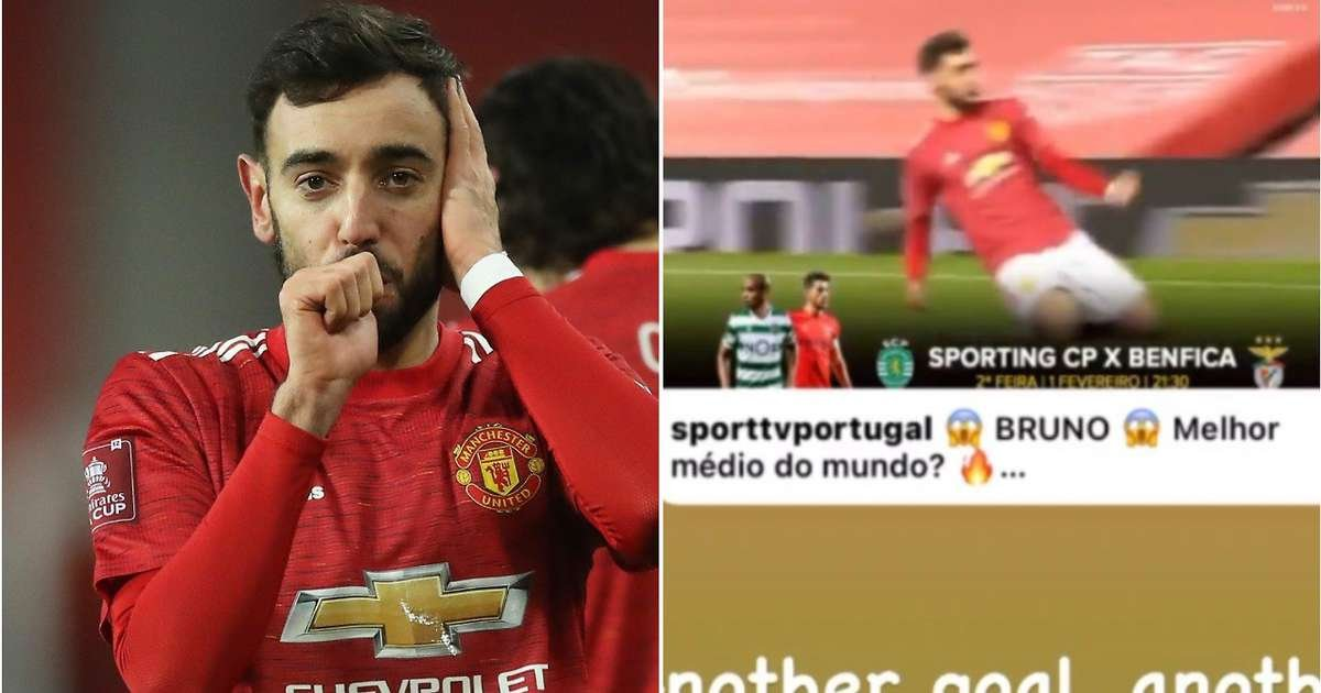 'Another penalty' - Bruno Fernandes' brother hits out on Instagram after free-kick v Liverpool