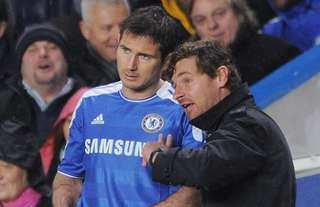 Frank Lampard played under Andre Villas-Boas at Chelsea
