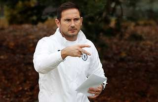 Frank Lampard was sacked by Chelsea on Monday morning