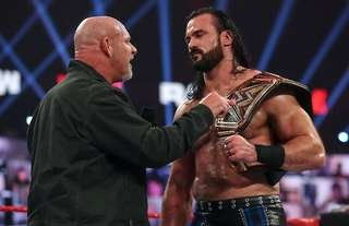 Goldberg will challenge for the WWE title at the Royal Rumble