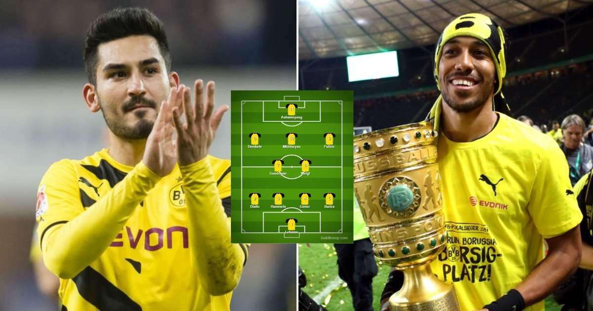 Borussia Dortmund's first-class XI made of their most expensive all-time departures
