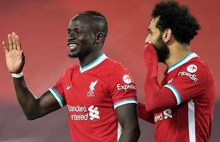 Mane and Salah have won the Premier League with Liverpool.