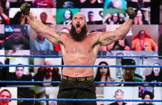 Strowman returned to SmackDown on Friday night ahead of the Royal Rumble