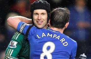 Petr Cech and Frank Lampard