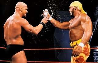 Hogan and Austin never had a match in WWE