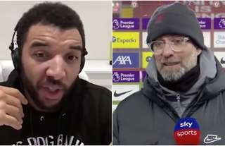 Liverpool: Troy Deeney reacts to Klopp's 'cold feet' excuse about Alisson