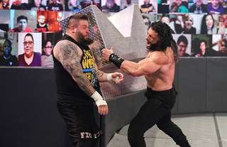 Owens claims a WWE referee cost him at the Royal Rumble