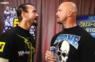 CM Punk and Stone Cold have been teasing a WWE match