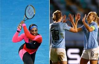 Serena Williams and Man City Women