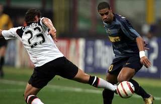 Adriano was unplayable for a brief period at Inter Milan