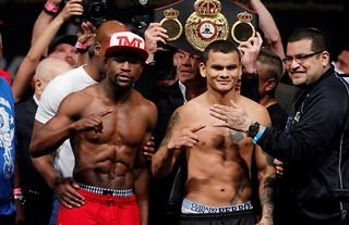 Floyd Mayweather and Marcos Maidana fought twice in 2014