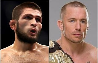 Khabib speaks out on potential Georges St-Pierre fights