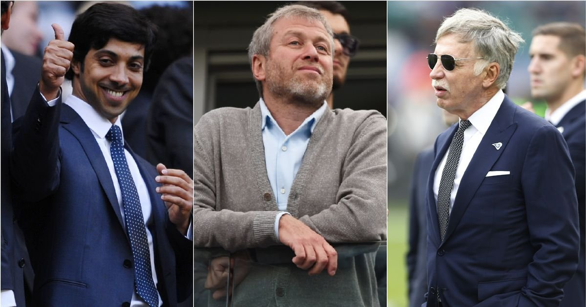 The 10 richest club owners in world football and how much they're worth