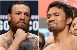 Conor McGregor is the butt of the joke among British bookmakers with regards to Manny Pacquiao hopes