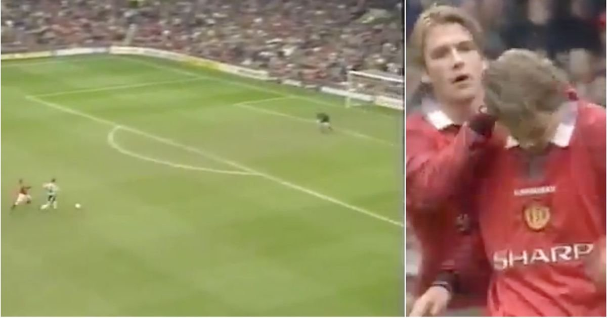 Man United news: Solskjaer's cynical foul against Newcastle in 1998 remembered - GIVEMESPORT