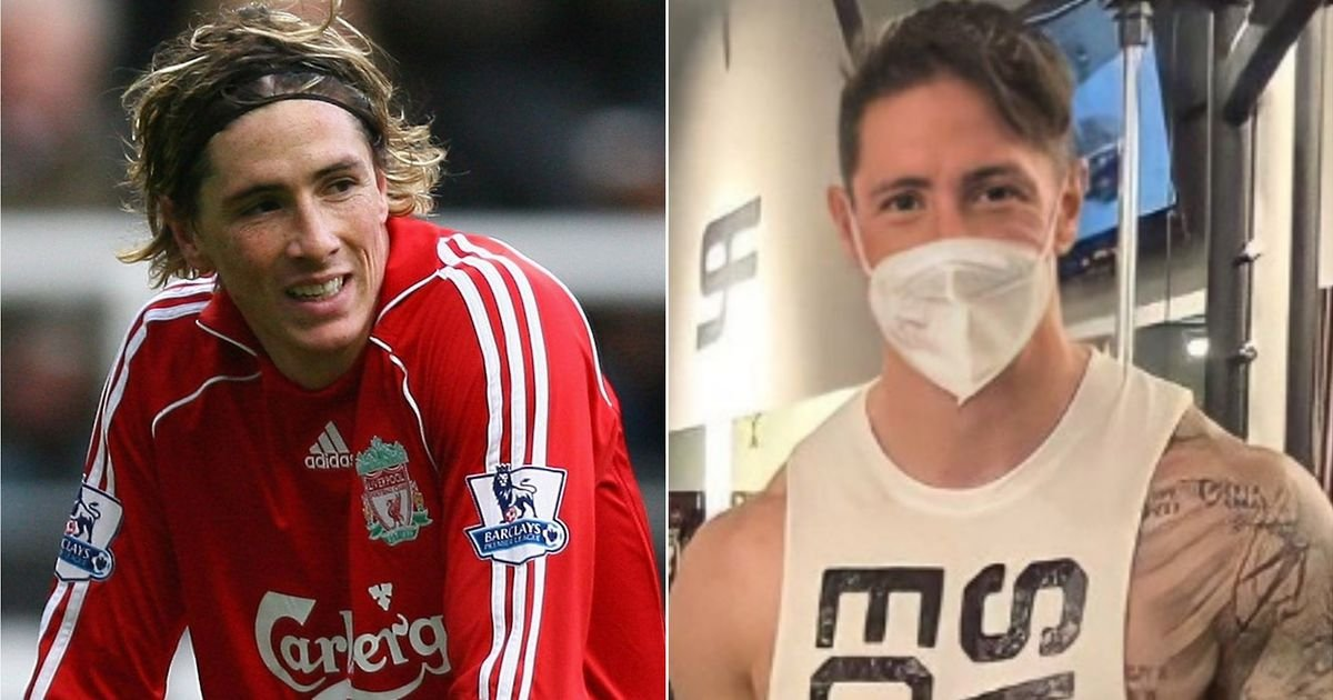 Fernando Torres completes his transformation into a beast as a new image emerges in the gym