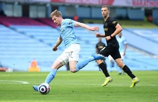 What a pass from Kevin De Bruyne!
