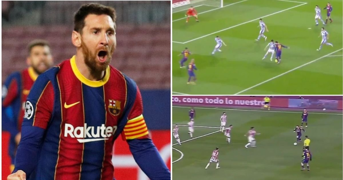 Lionel Messi: Barcelona star's 'pre-assists' video is stunning - GIVEMESPORT