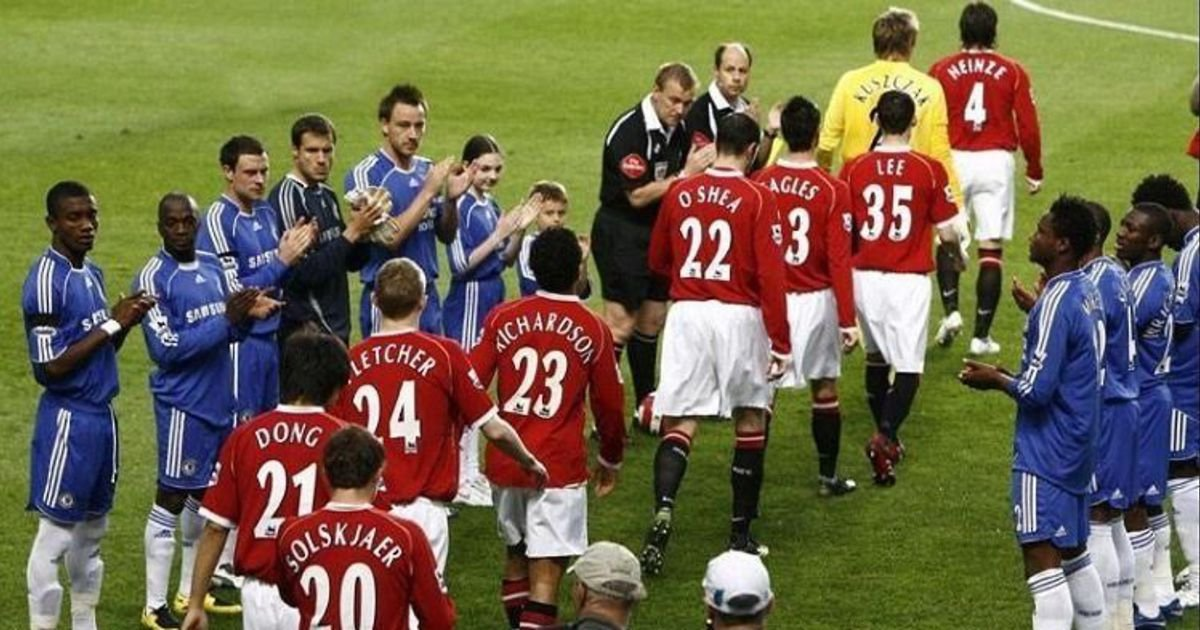 The infamous Man Utd XI that received a guard of honour from Chelsea: Where are they now?