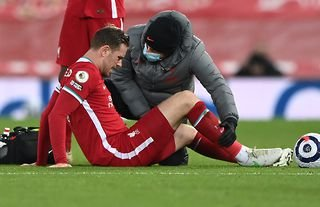 Liverpool's Jordan Henderson is out for up to 10 weeks