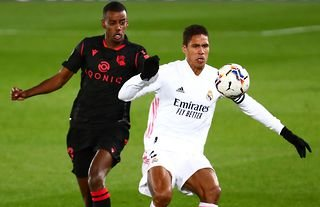 Man United want Raphael Varane