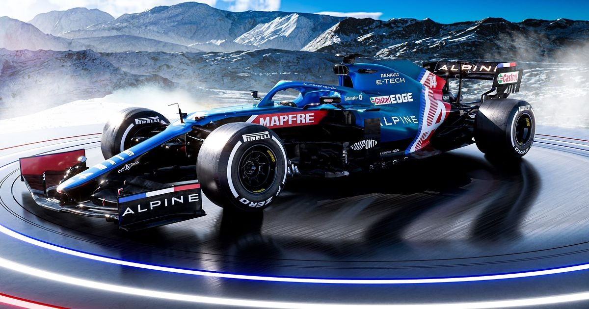 Alpine F1's 2021 challenger is going to be the best looking car on the grid