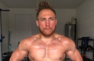WWE NXT star Dunne is now in ridiculous shape
