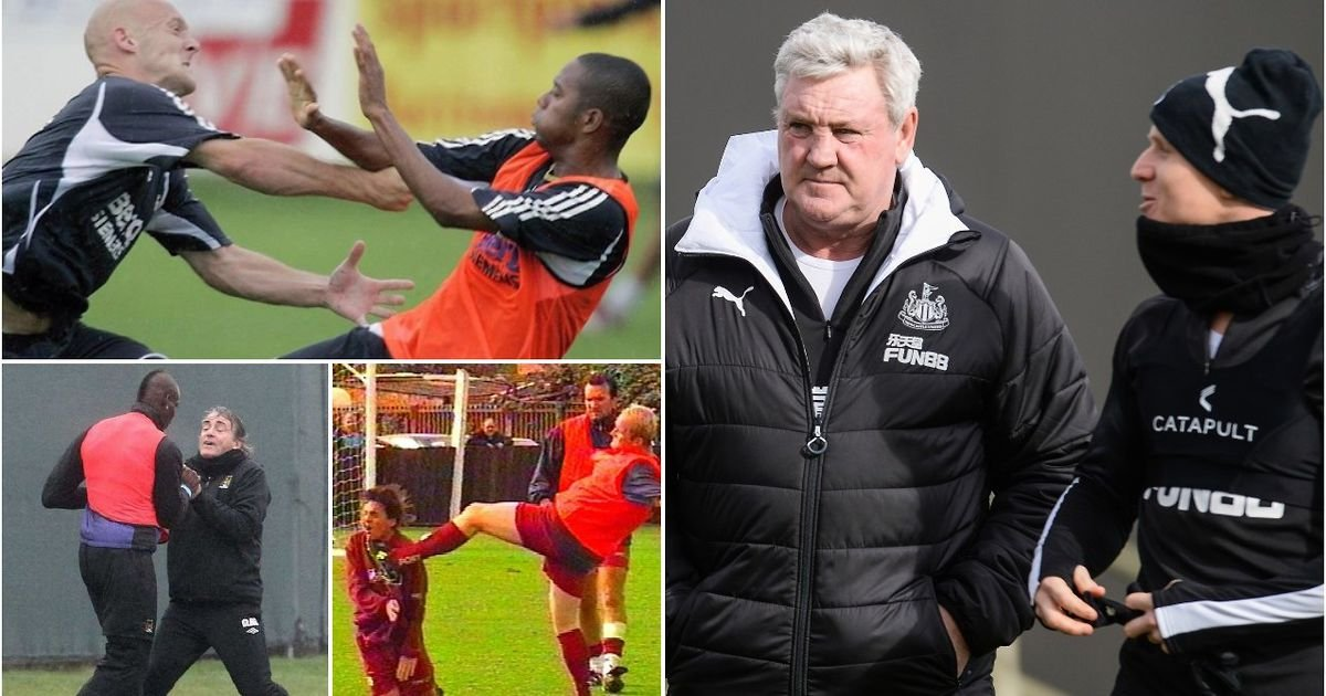 Ranking the 13 biggest training ground bust-ups after Steve Bruce and Matt Ritchie's clash