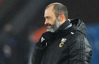Nuno Espirito Santo on the touchline