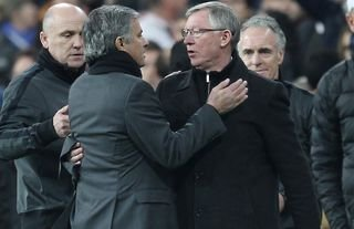 Mourinho and Ferguson are two of the greatest managers ever.