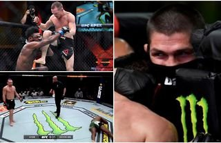 Khabib exposes Petr Yan's corner for illegal actions at UFC 259 during Sterling fight