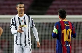 Cristiano Ronaldo and Lionel Messi are the two players with the most goals in the 21st century