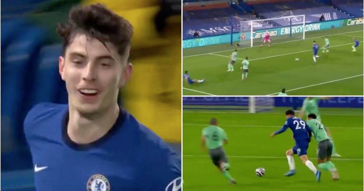 Kai Havertz's highlights vs Everton show Chelsea were right to spend £72m on him