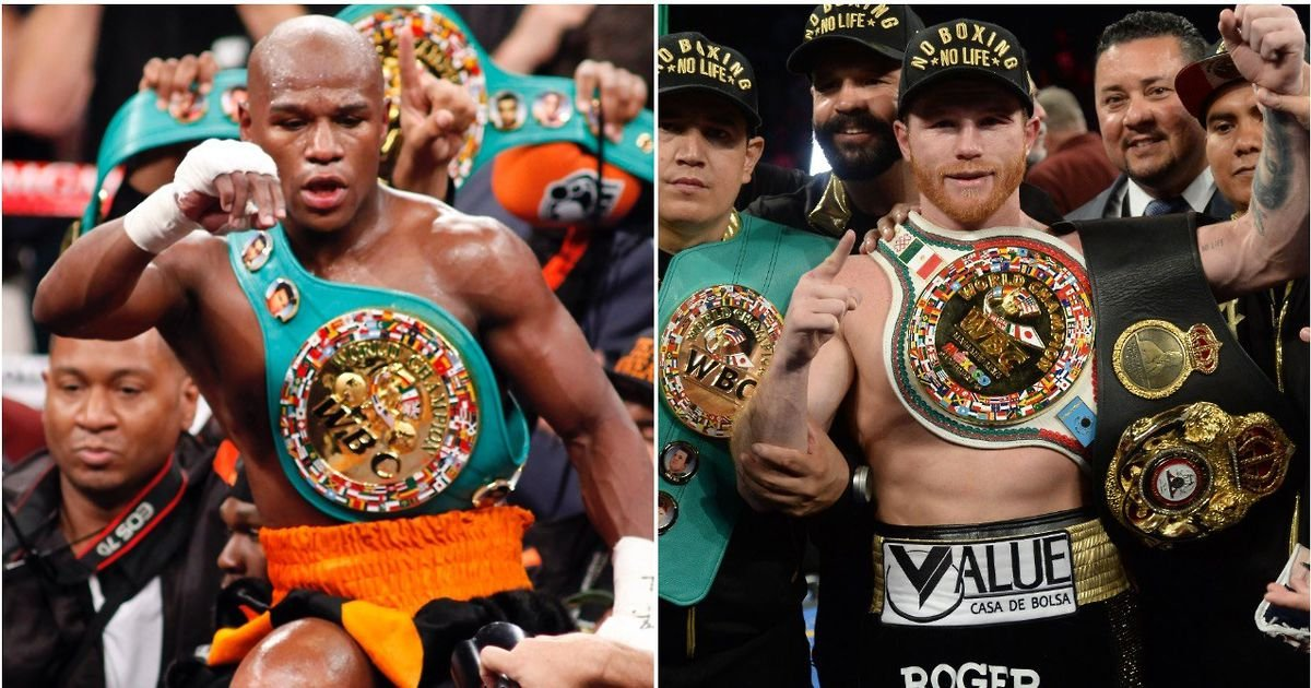 67% of boxing fans believe a prime Floyd Mayweather beats a prime Canelo