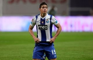 James Rodriguez played for Porto between 2010 and 2013