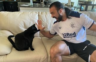 WWE star McIntyre is a huge fan of Rangers FC