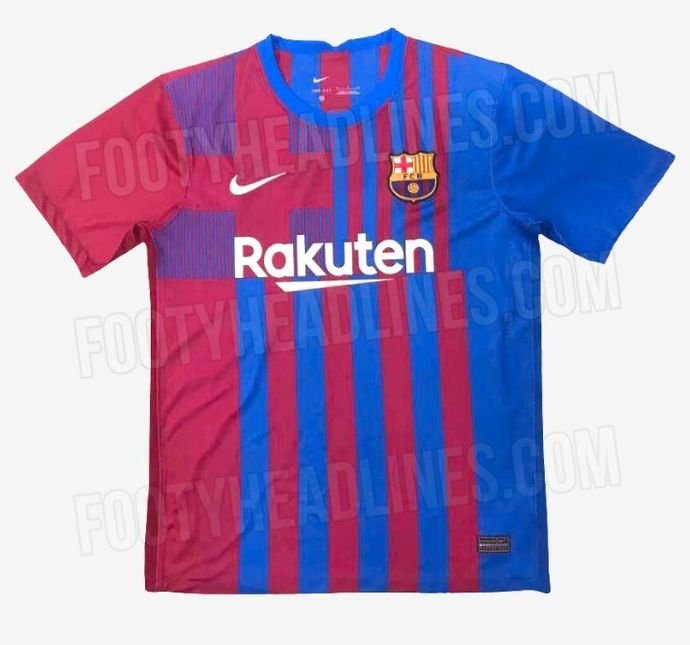 Barcelona Chelsea And Tottenham S Home Kits For The 2021 22 Season Have Been Leaked Givemesport