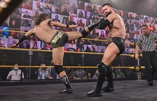 Balor and Cole main-evented WWE NXT this week