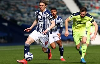 West Brom midfielder Conor Gallagher has been linked with a move to Crystal Palace