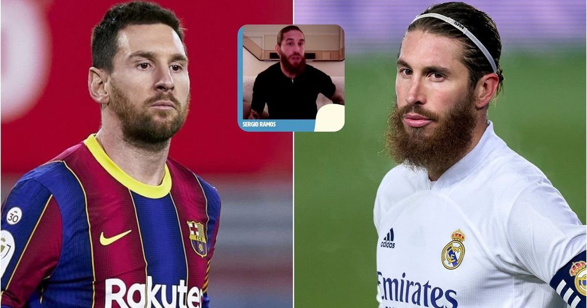 Lionel Messi: Real Madrid star Sergio Ramos makes offer to Barcelona legend - GIVEMESPORT