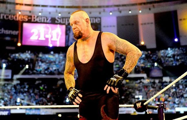 The Undertaker's streak ended at 21-1