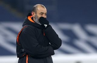 Wolves manager Nuno Santo