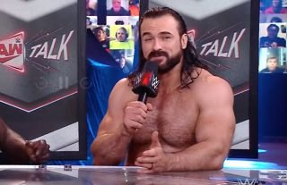 McIntyre accidentally swore on WWE RAW Talk this week
