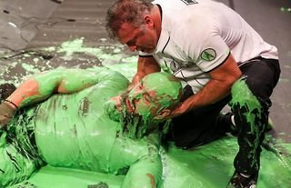 Strowman was slimed by McMahon on WWE RAW this week