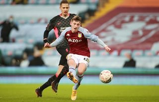 Aston Villa youngster Louie Barry
