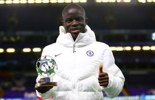 N'Golo Kante was voted Man of the Match vs Atletico Madrid