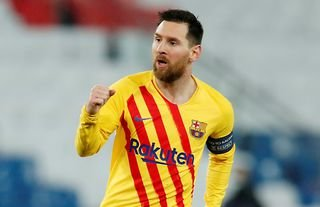 Lionel Messi has been included in the Champions League Team of the Season so far