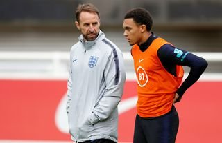 Trent Alexander-Arnold has been dropped by England manager Gareth Southgate
