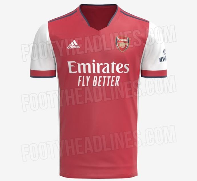 Arsenal's home and away kits for the 2021/22 season have now both ...