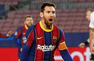 Lionel Messi has contributed to 42 goals for Barcelona this season